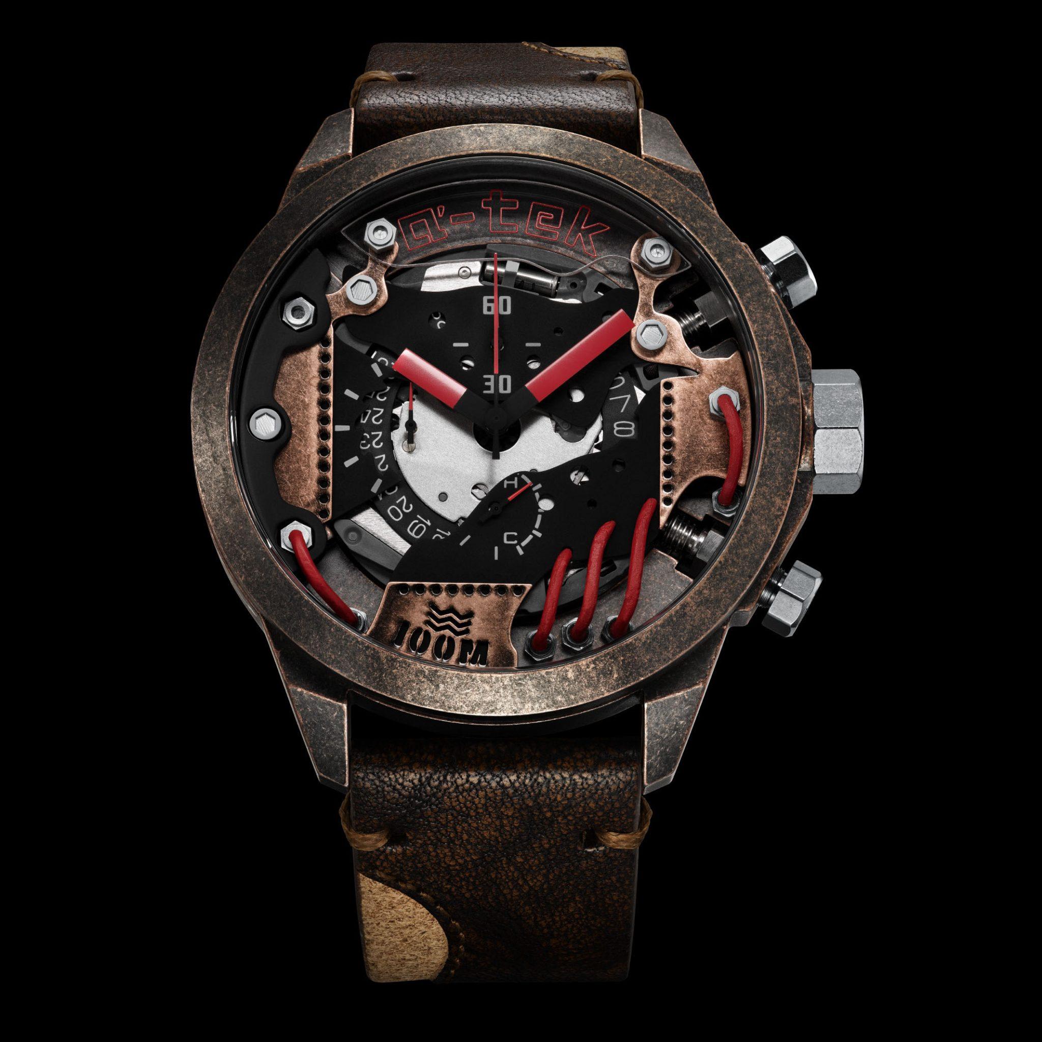 a tek watch packshot photgraphy