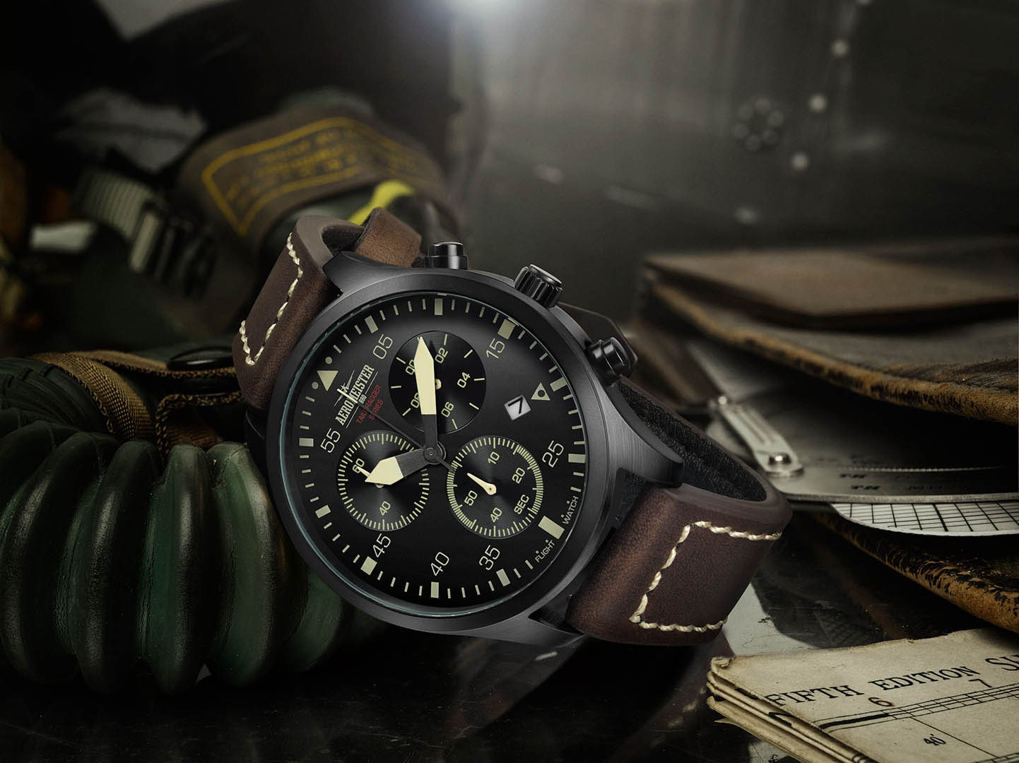 aeromeister aviation watch still-life photography
