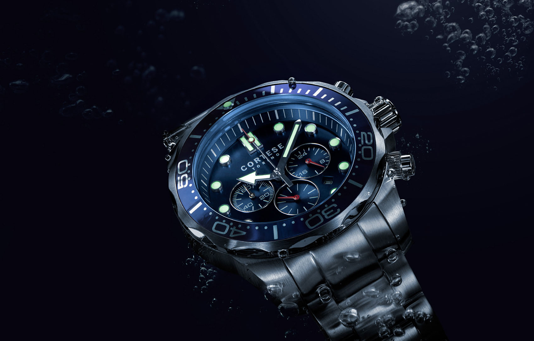diving watch underwater photography