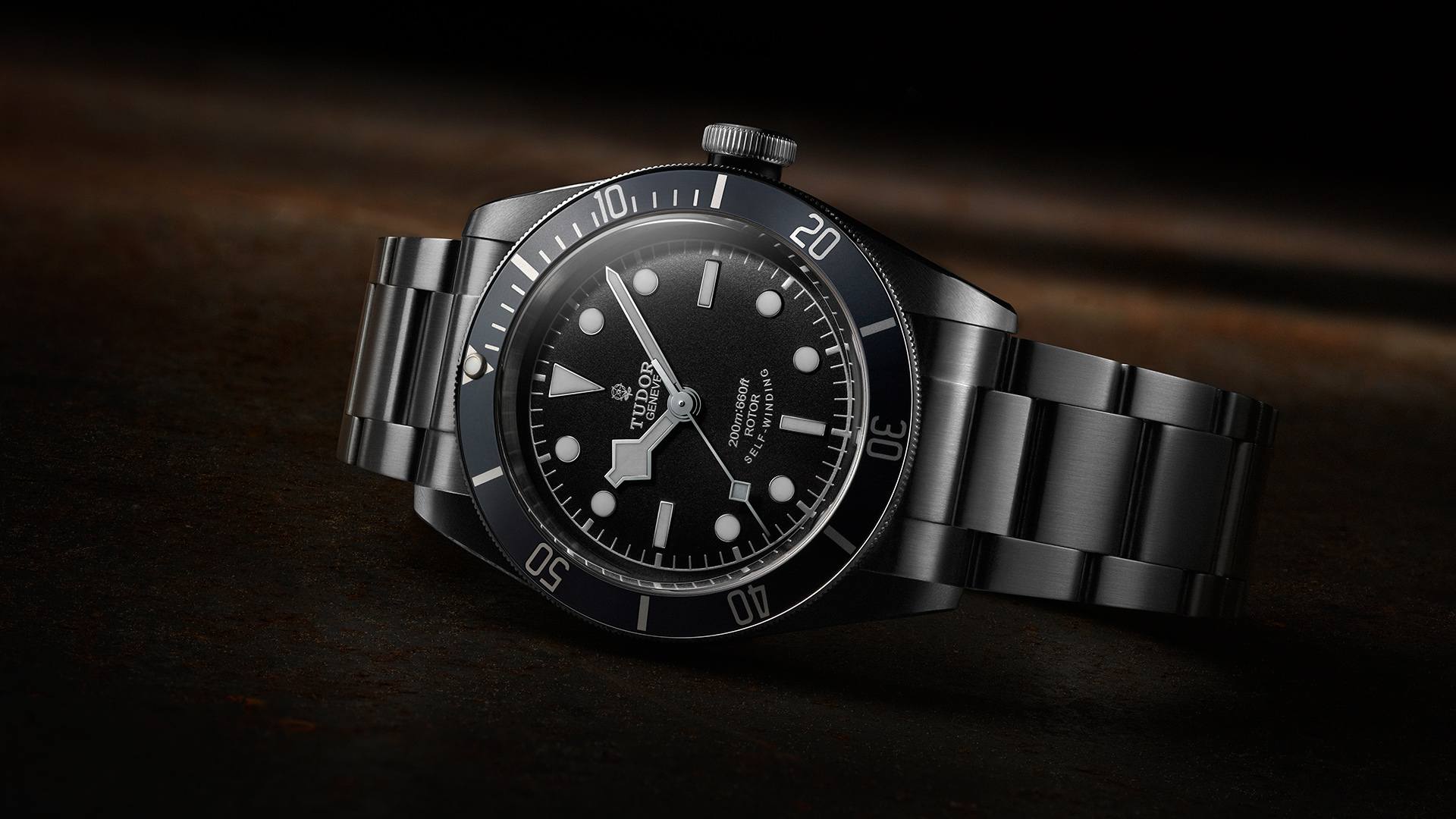 Tudor watch advertising photography