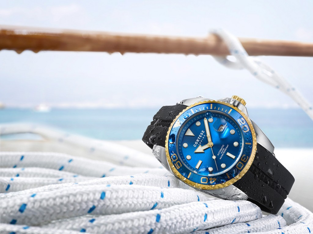 Werbefotografie Cortese watch sailing