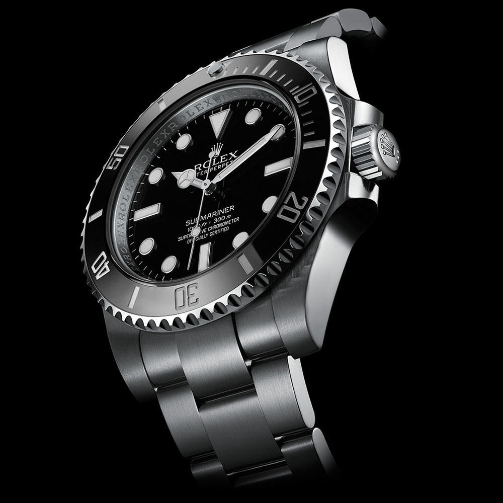 Rolex submariner dark beauty photography