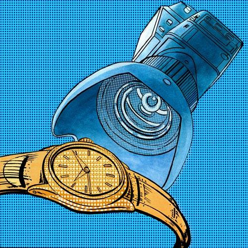 Uhren fotografieren Studio